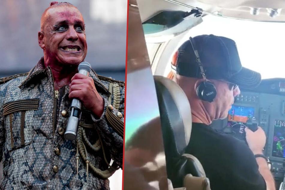 Über 673 Km/h! Rammstein-Sänger Till Lindemann übernimmt Steuer von Privatjet