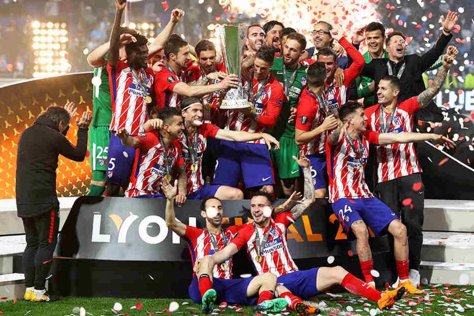 Stuttgarts Gegner Atlético Madrid gewann 2018 die Europa League mit einem überzeugenden 3:0-Sieg über Olympique Marseille.