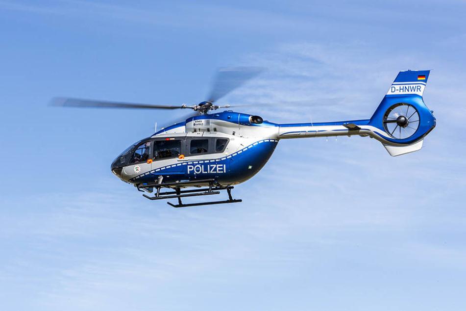 Die Polizei benötigte einen Hubschrauber, um zwei 15-jährige Vandalen zu verfolgen.
