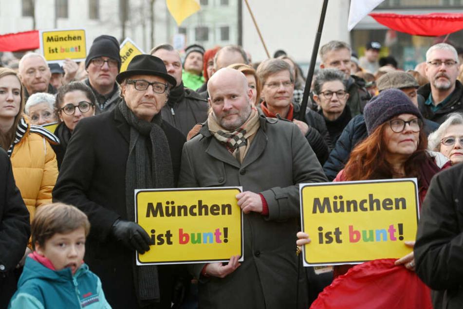 München: Pegida-Demo gegen Beschneidung in München abgesagt: Gegendemo mit viel Zuspruch