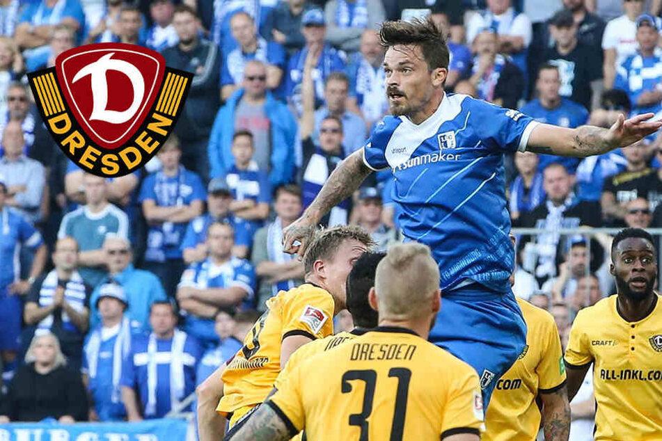 """Ex-Dynamo Erdmann ist sich sicher: """"Wir bleiben beide in der 2. Liga"""""""