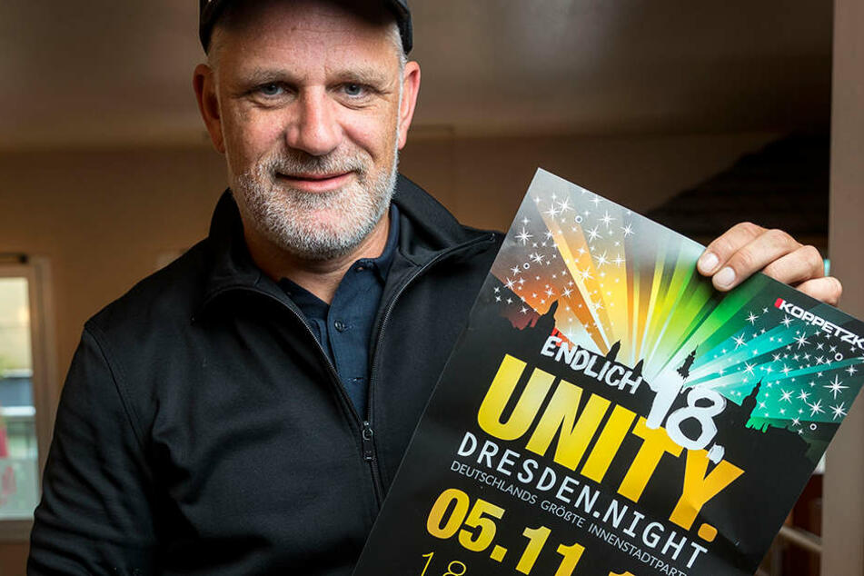 Veranstalter Ralf Koppetzki (41) spendiert den Morgenpost-Lesern 80  Freitickets.