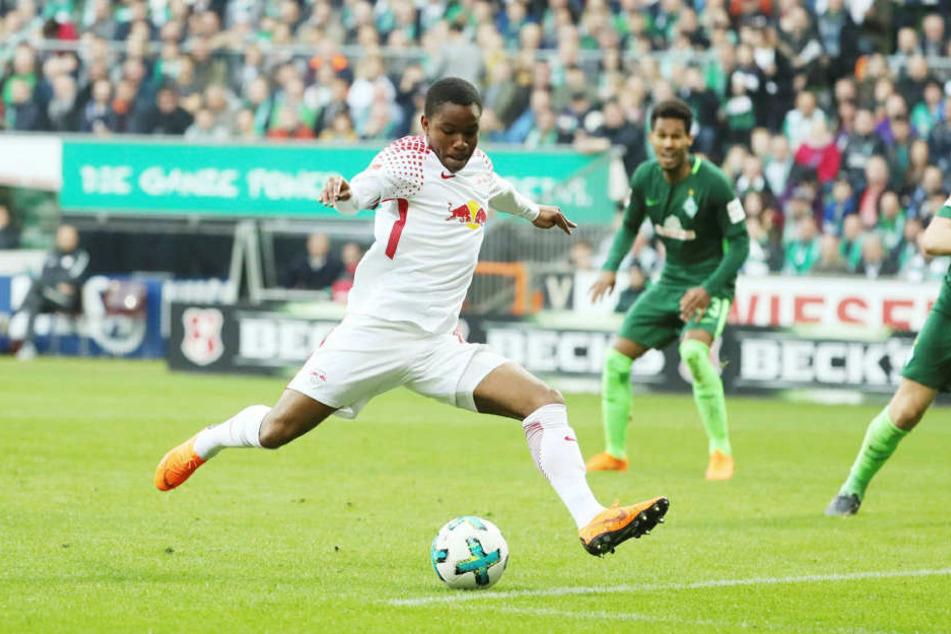 Ademola Lookman war in elf Spielen für RB Leipzig an neun Toren beteiligt. Kein Wunder, dass ihn die Bullen im Sommer fest holen wollten.