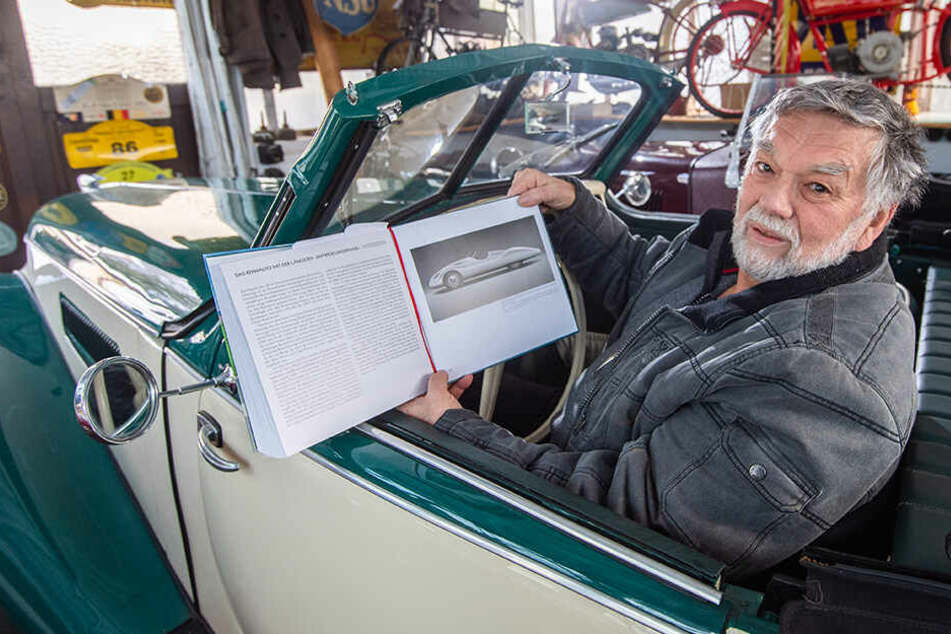 Chemnitz: Der Silberpfeil war vor 80 Jahren geplant worden: Sachsen bauen unbekannten DKW
