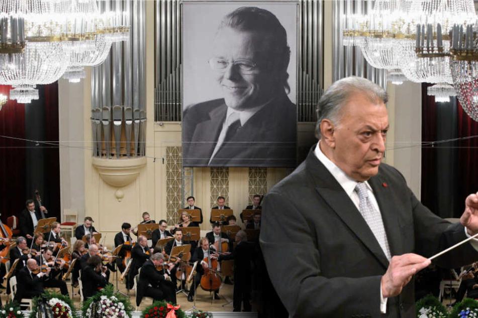 Dirigent Zubin Mehta wird das Konzert für den verstorbenen Mariss Jansons dirigieren. (Bildmontage)