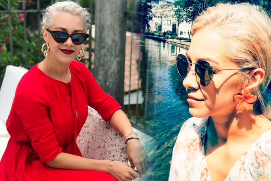 Oana Nechiti hat eine besondere Leidenschaft für Sonnenbrillen!
