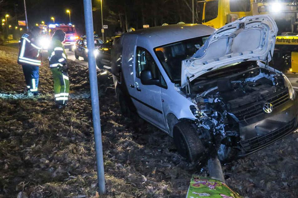 Der Unfall passierte in der Auer Straße in Bad Schlema.
