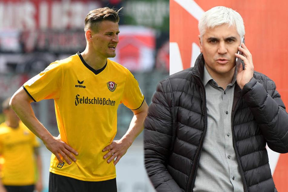Dynamo-Stürmer Kutschke ist für den Nürnberger Sportdirektor ab Sommer fest gesetzt.