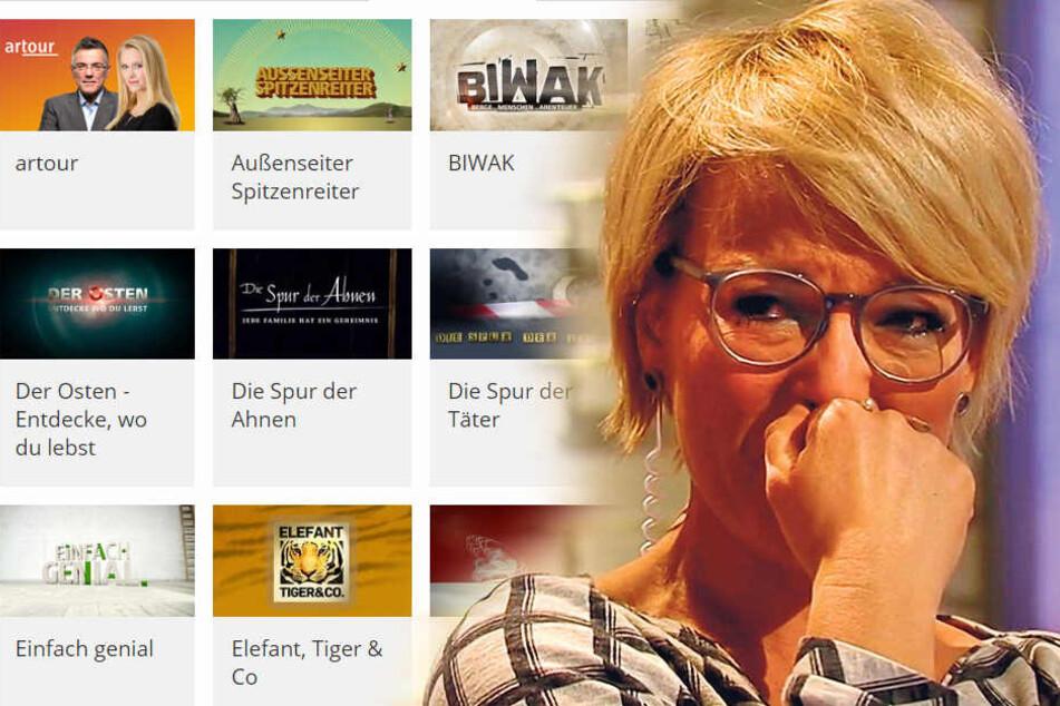 """Wen treffen die von Intendantin Karola Wille angekündigten Sparmaßnahmen beim MDR zuerst? Muss sich Andrea Ballschuh (""""Quickie""""-Moderatorin, F.) Sorgen machen?"""