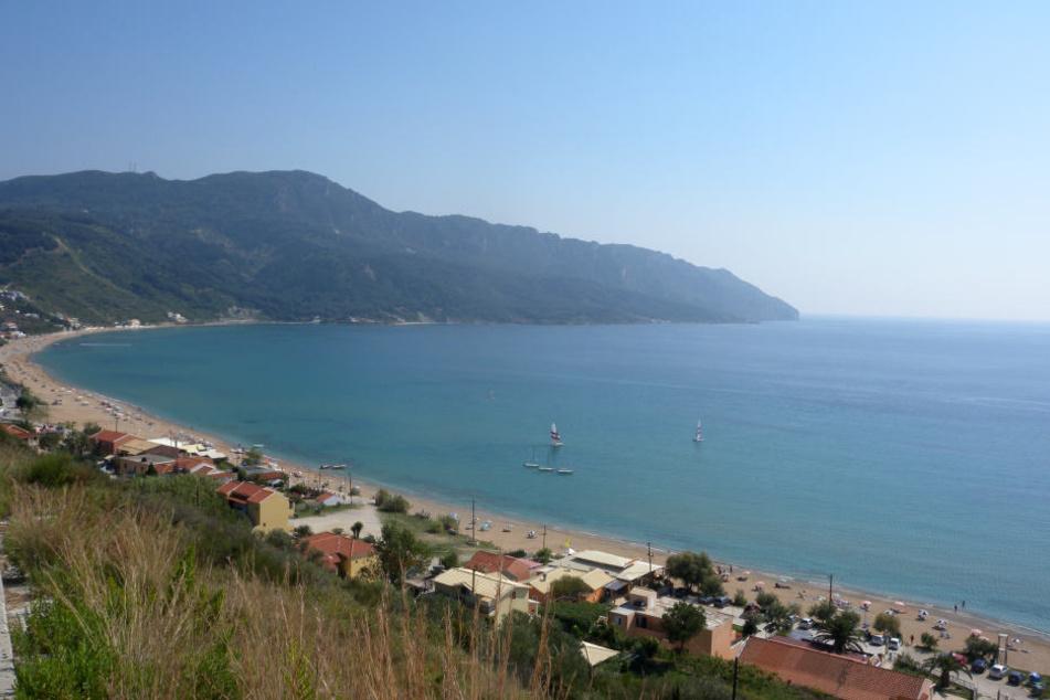 In Korfu kam jetzt ein englischer Tourist ums Leben.