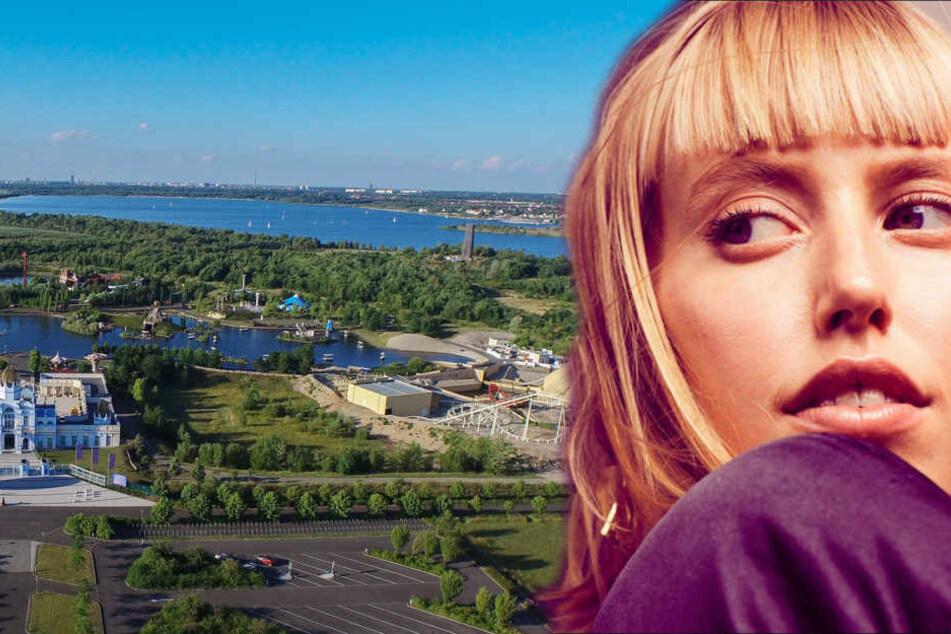 Vor den berühmten Attraktionen des Belantis-Freizeitparks wird Musikerin LEA für Festival-Stimmung sorgen.
