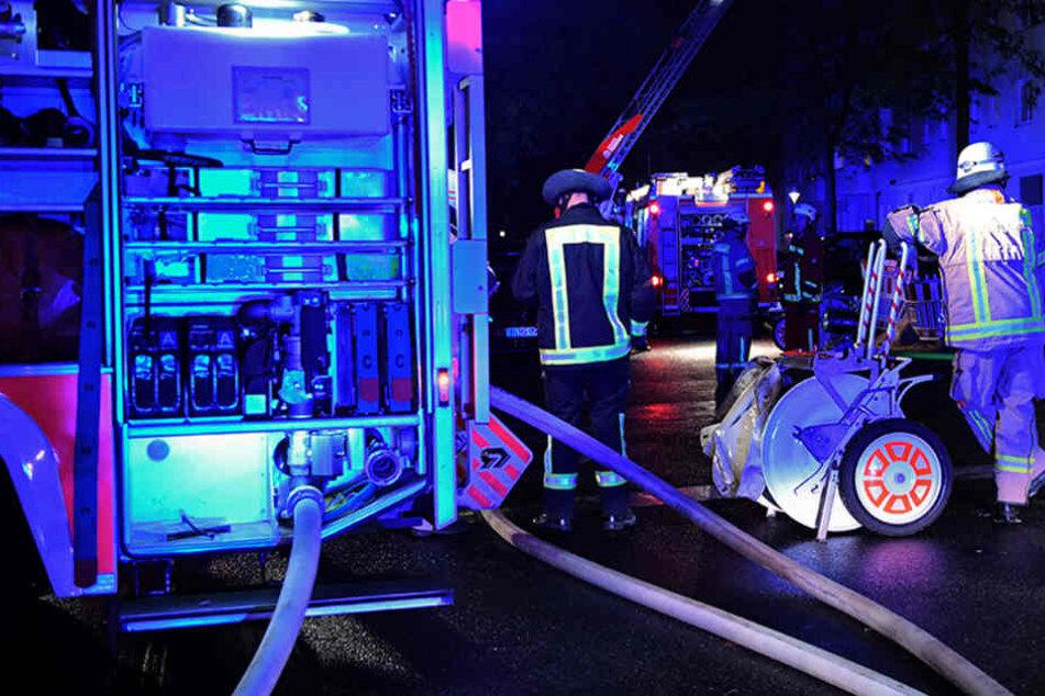 Mit knapp 50 Einsatzleuten war die Feuerwehr vor Ort.