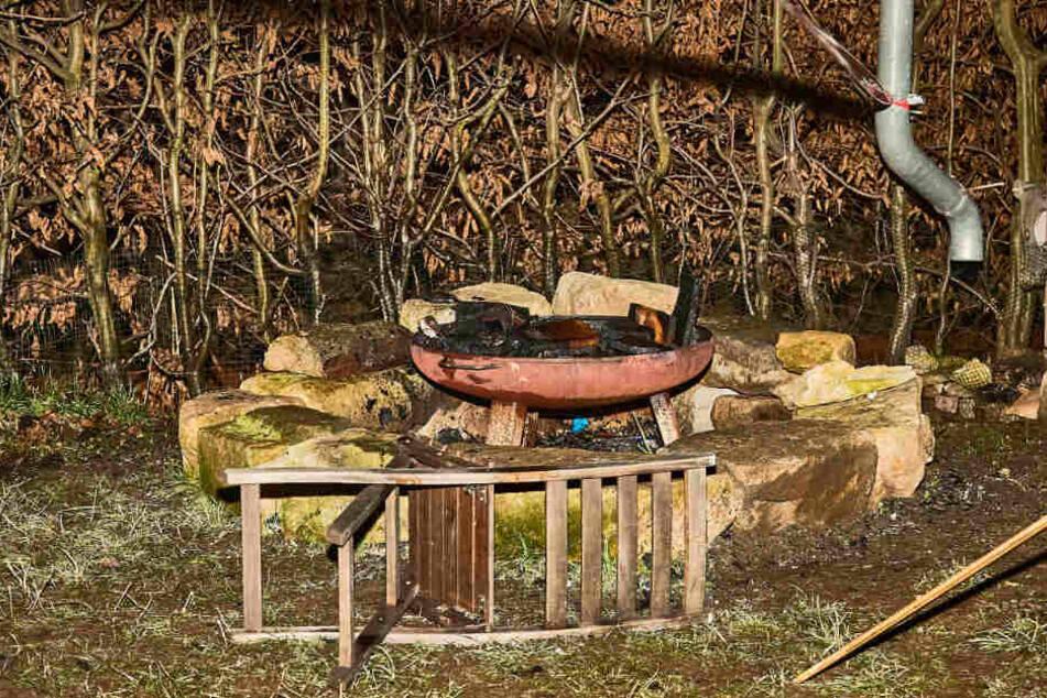 In dieser Schale entfachte ein Junge (12) das fatale Feuer.