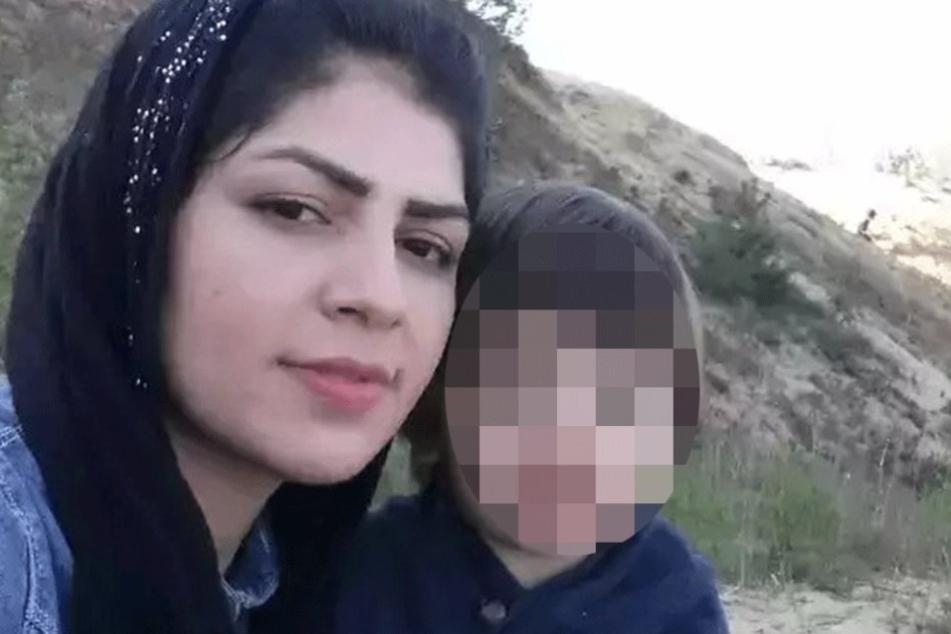 Aqele S. (25) mit ihrem jüngsten Sohn Suleman (3), der nun ohne Mutter aufwachsen muss.