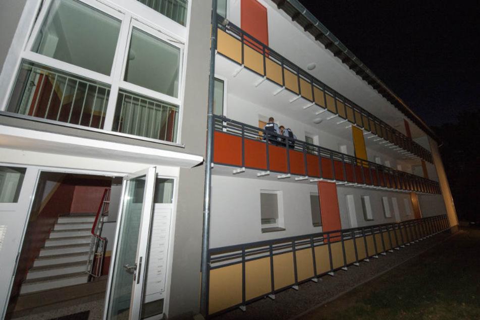 Aus dem ersten Stock dieses Wohnkomplexes wurden die Schüsse abgefeuert.
