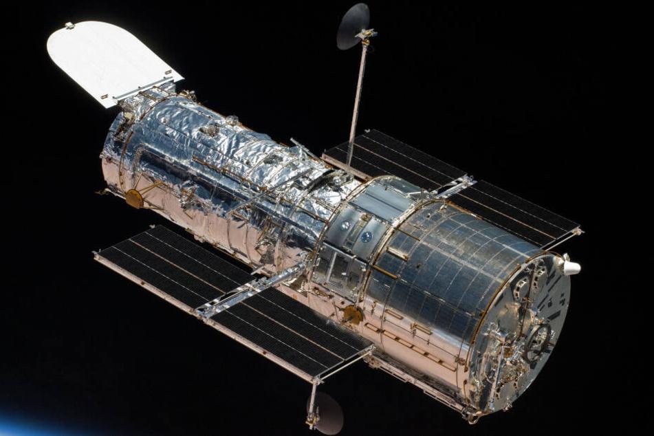 Das Hubble-Teleskop.