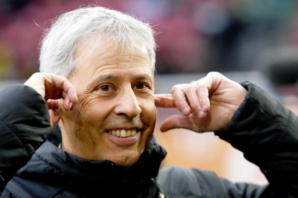 Selbst der sonst eher zurückhaltende BVB-Coach Lucien Favre gerät bei Erling Haaland ins Schwärmen.