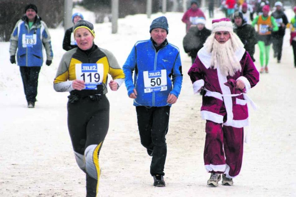 Zum 50. Geburtstag startete der Unternehmer das erste Mal beim Sibirischen Halbmarathon in Omsk - damals mit der Startnummer 50.