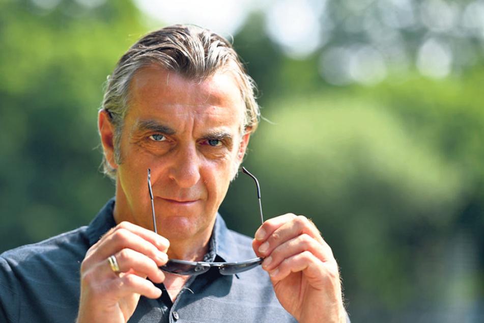 Am Montag zu Gast beim Fußball-Talk: Dynamo-Sport-Geschäftsführer Ralf Minge  (56).