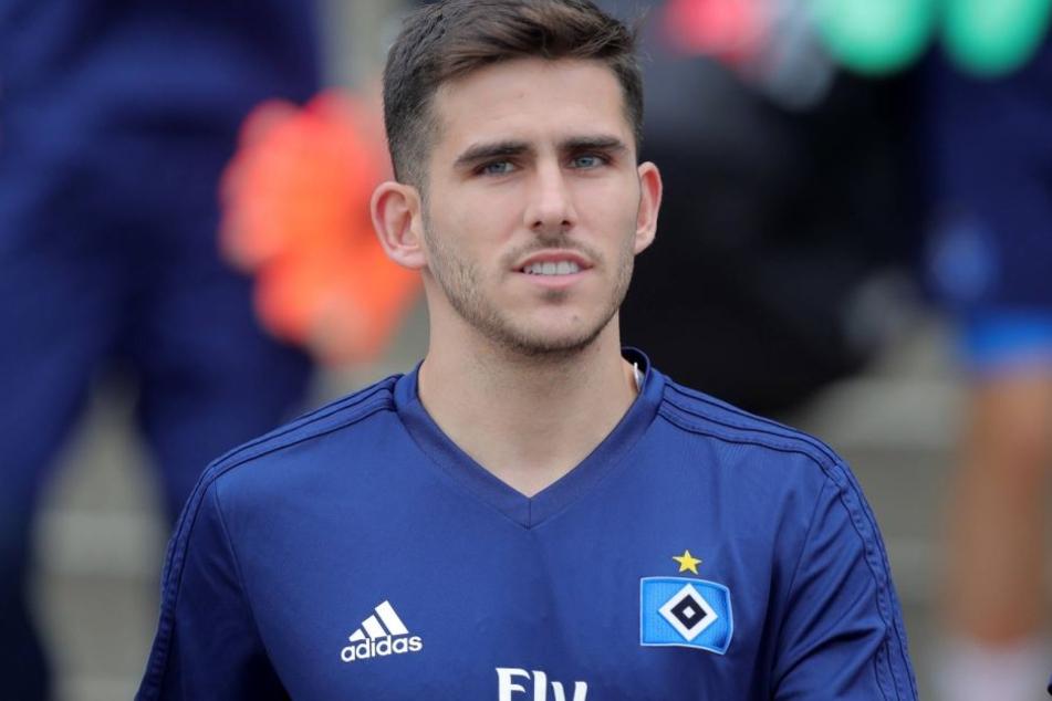 Jairo Samperio könnte doch länger als ein Jahr in Hamburg bleiben.