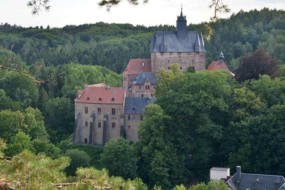 Ein magischer Ort: Auf der Burg Kriebstein ging es am Wochenende märchenhaft zu.