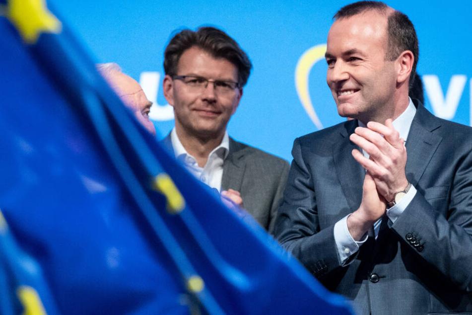 Manfred Weber (r.) will Rechtspopulisten und Nationalisten nicht das Feld überlassen.