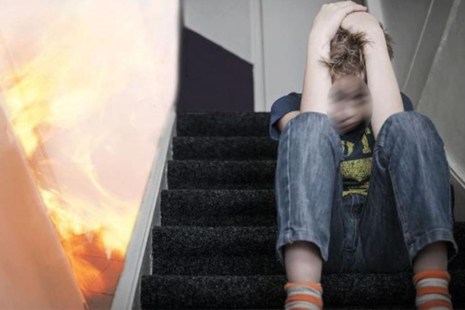 Mann sperrt Ehefrau in brennendes Zimmer und seine Söhne müssen ihre Todesschreie mit anhören