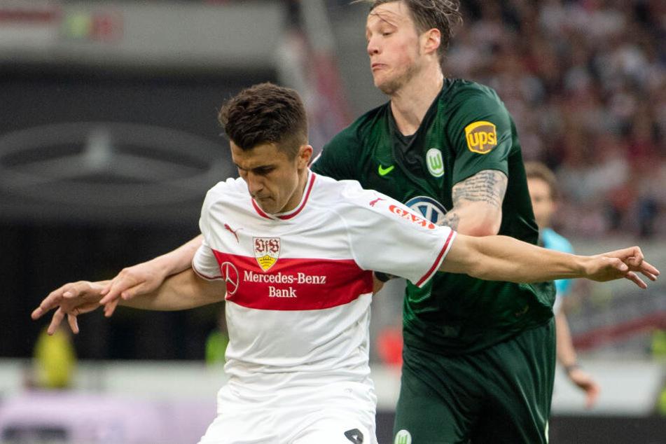VfB-Kapitän Marc-Oliver Kempf (links im Bild) ist nach überstandenen muskulären Problemen wieder bereit für einen Startelf-Einsatz. (Archivbild)