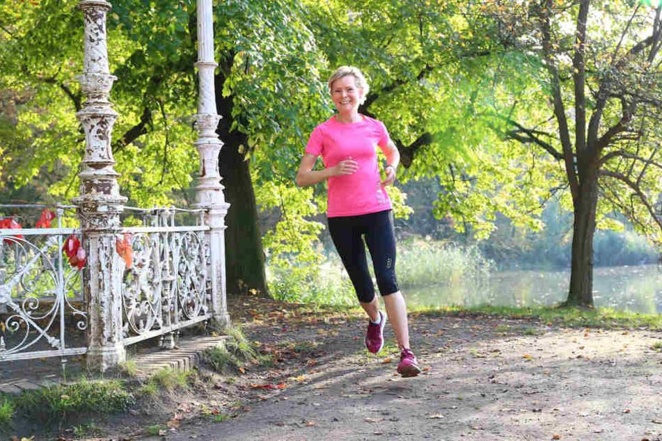 Natur, Bewegung, frische Luft: Dr. Sandra Otto hat das Laufen für sich entdeckt, als es ihr richtig dreckig ging. Seither möchte sie es nicht mehr missen.