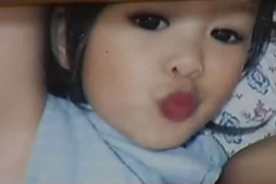 Die Dreijährige soll laut Polizei von ihrem Vater als Schutzschild benutzt worden sein!
