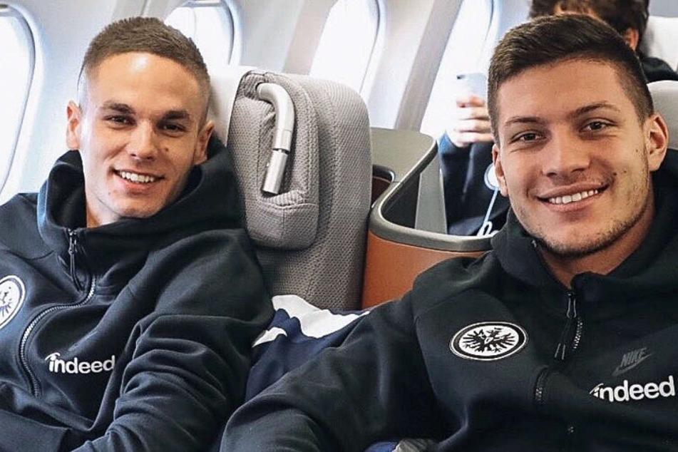Mit einem Lächeln auf den Lippen fliegen die Spieler von Eintracht Frankfurt gen Florida.