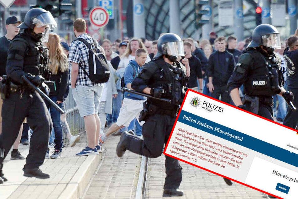 Nach Messerattacke in Chemnitz: Zeugen sollen Polizei über Online-Portal helfen