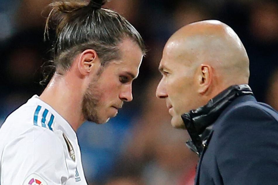 Zweckehe, wenn überhaupt: Gareth Bale und Zinedine Zidane.