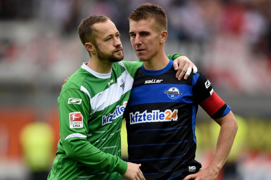 Uwe Hünemeier (rechts) kehrt an seine alte Wirkungsstätte zurück. Ob Lukas Kruse (links) ihm bald folgt?