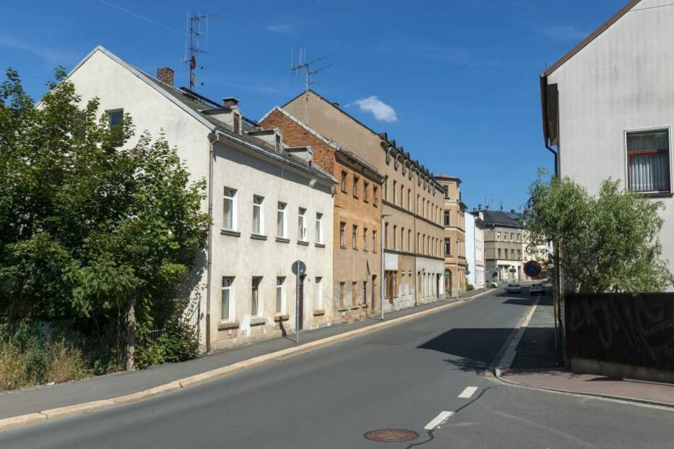Im Umfeld dieser Straße in Plauen wurde der 22-jährige Syrer festgenommen.
