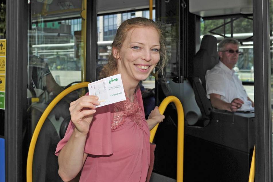 VMS-Sprecherin Jeanette Kiesinger macht es vor: Die 32-Jährige hat ein Job-Ticket.