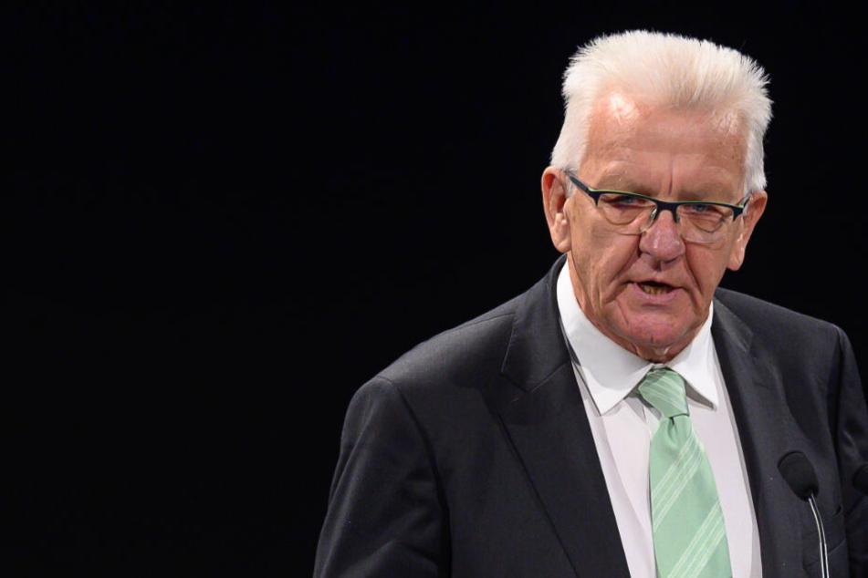 Problematische Flüchtlinge: Kretschmann will Maßnahmen für mehr Sicherheit