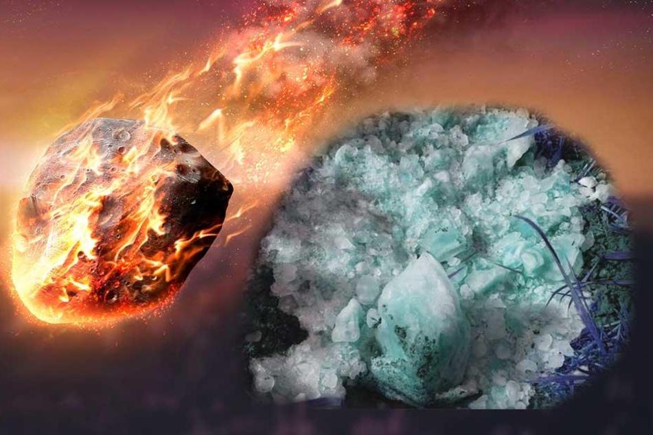 Blau schimmerndes Objekt fällt vom Himmel! Experten schließen Meteoriten aus