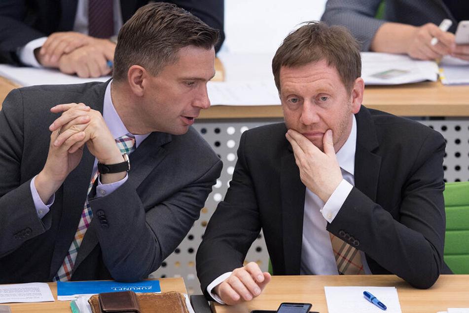 Kretschmer & Dulig: Im Gleichschritt in die Offensive?