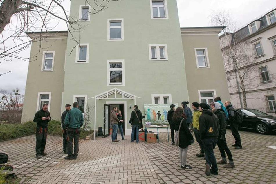 In Asylunterkünften wie an der Tharandter Straße sollen künftig wieder maximal nur 65 Menschen untergebracht werden.