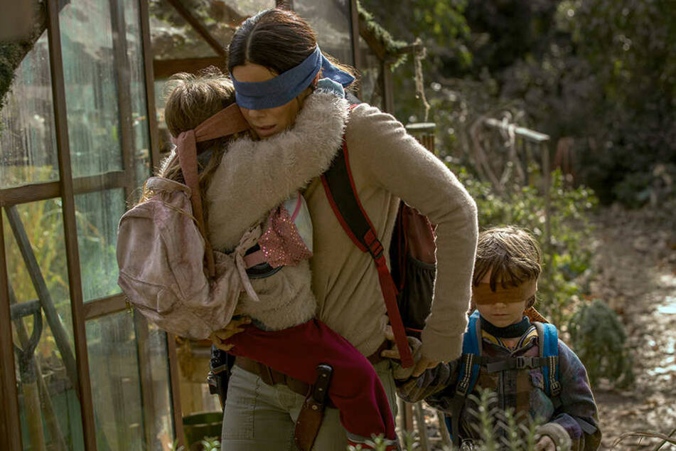 """Wer hinschaut, stirbt. So lautet das Mantra im Netflix-Thriller """"Bird Box""""."""