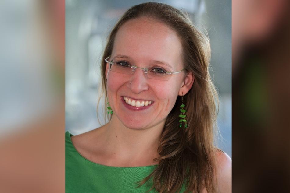 Simone Rath (39) von der Initiative German Zero lädt Chemnitzer zur lokalen Klimainitiative ein.