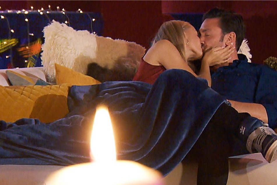 Der erste innige Kuss, kommt da bald noch mehr?