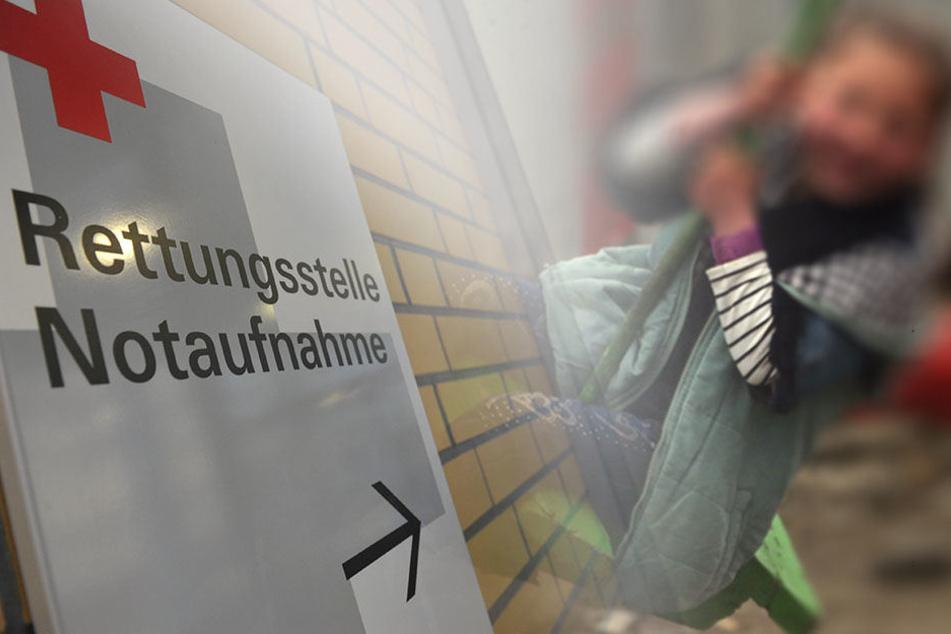 Vierjähriges Mädchen stranguliert sich beim Schaukeln