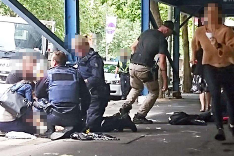 Mann rast mit Auto durch Fußgängerzone: Drei Tote