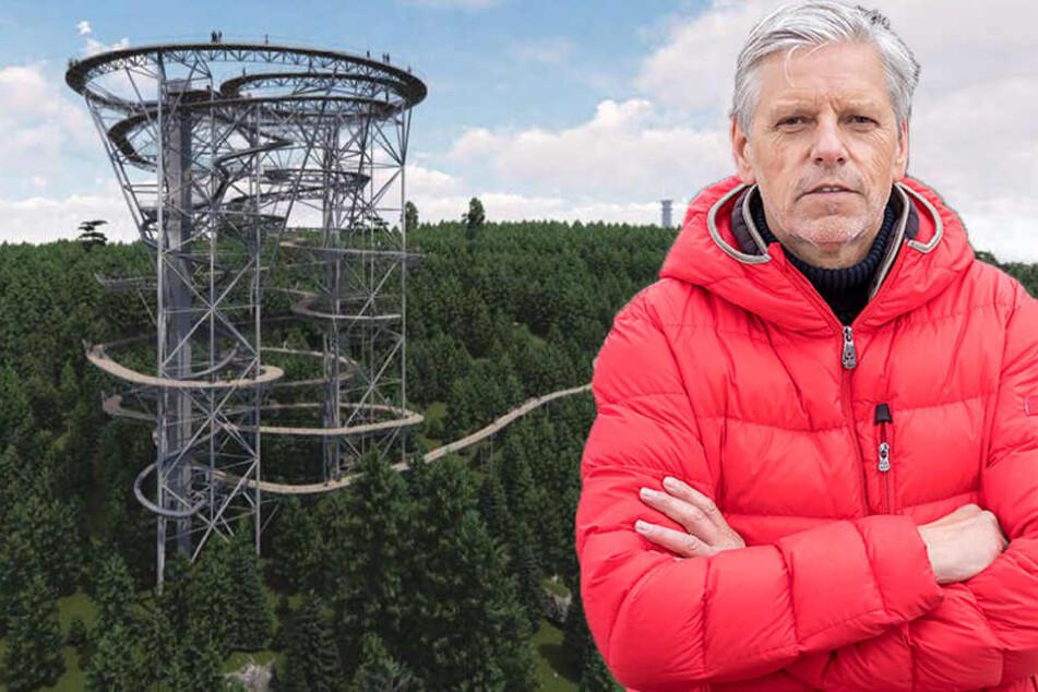 Ärger um geplante Riesenrutsche im Erzgebirge