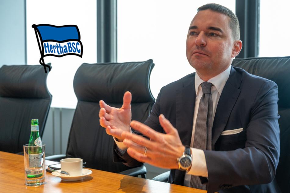 """Hertha-Investor Windhorst: """"Wir werden alles tun, dass wir erfolgreich werden"""""""
