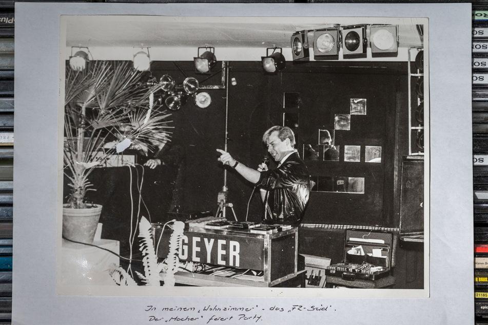 DJ Geyer heizte dem FZ-Publikum ein - hier ein Foto von 1988.