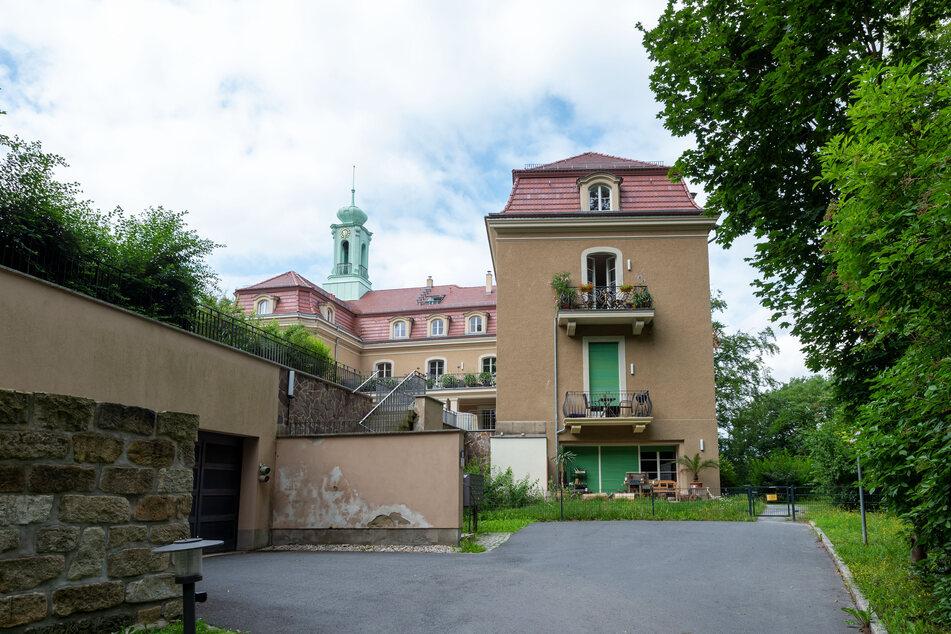 Das Türmchen erinnert an Schloss Hubertusburg, dem legendären Barock-Jagdschloss bei Wermsdorf.