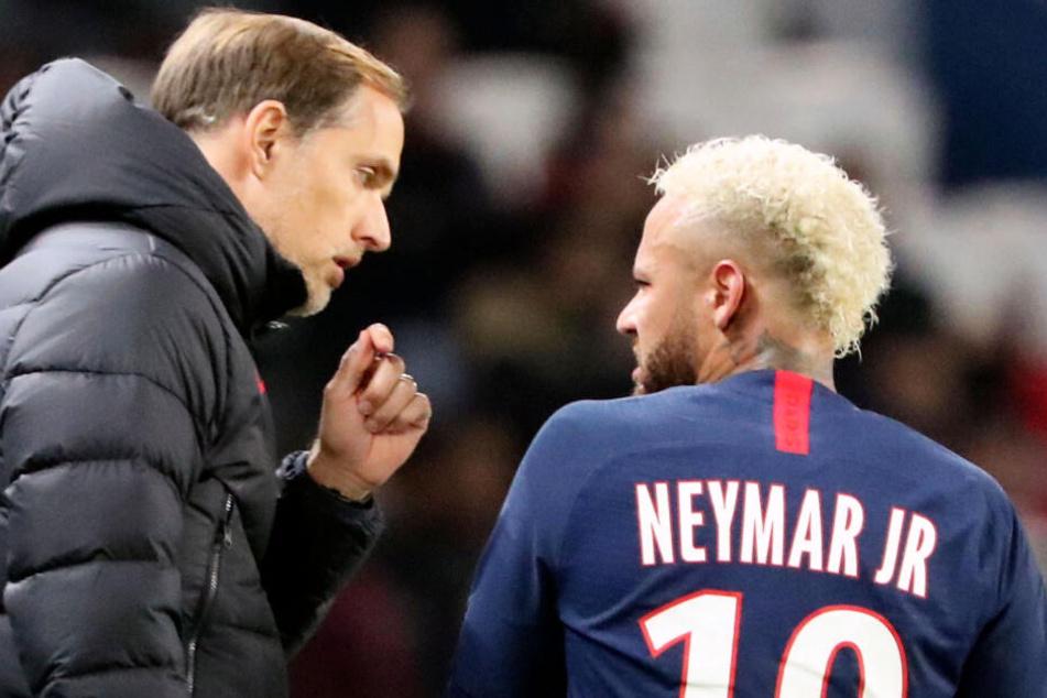 Wilde PSG-Party von Neymar und Co. nach CL-Pleite gegen BVB: Tuchel angefressen!